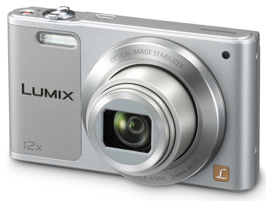 Panasonic DMC-SZ10EP-S, 16Mpx, 12x zoom 24mm, OIS, HD, WiFi, stříbrná