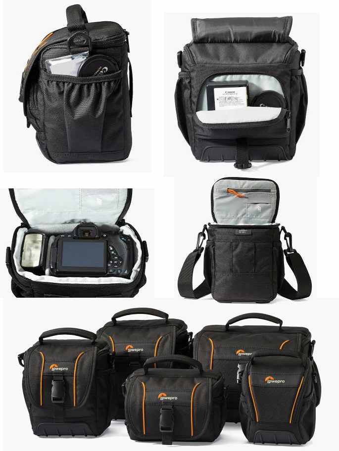 Lowepro Adventura SH 100 II (10,5 x 9 x 14 cm) - Black