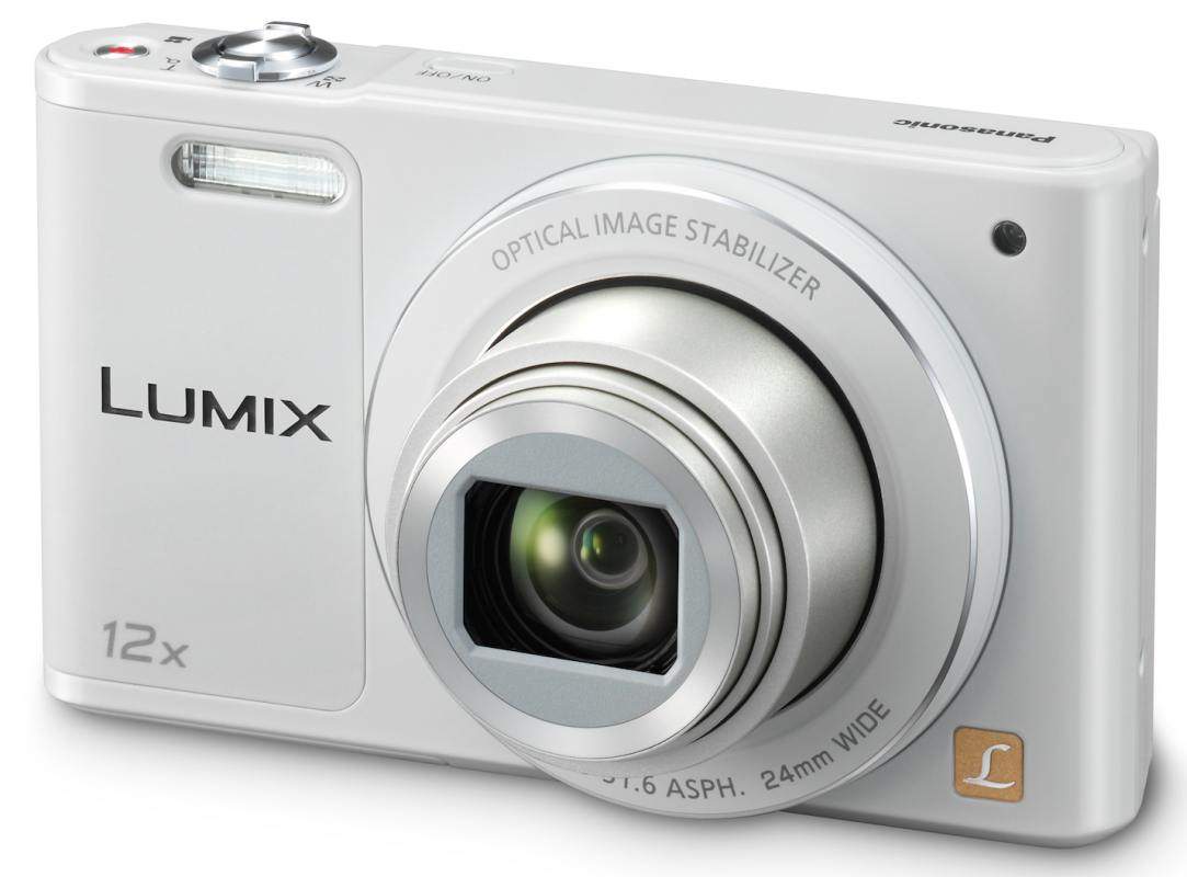 Panasonic DMC-SZ10EP-W, 16Mpx, 12x zoom 24mm, OIS, HD, WiFi, bílá