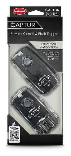 Hähnel CAPTUR Remote Nikon - dálková spoušť DSLR + dálková spoušť blesku pro Nikon