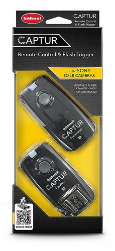 Hähnel CAPTUR Remote Sony - dálková spoušť DSLR + dálková spoušť blesku pro Sony