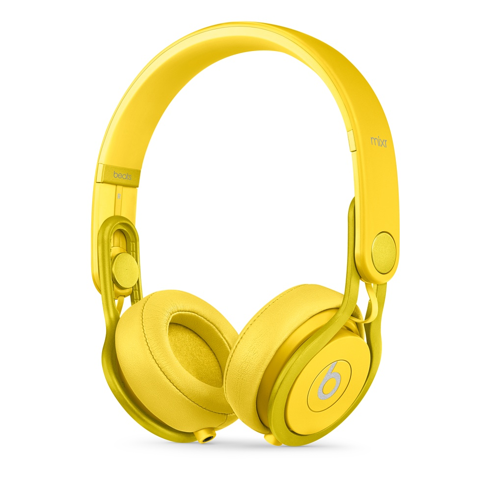 Apple Beats Mixr High-Performance Professional Headphones - Yellow