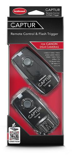 Hähnel CAPTUR Remote Canon - dálková spoušť DSLR + dálková spoušť blesku pro Canon