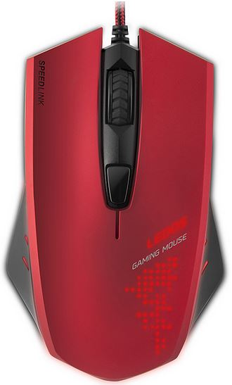 SPEED LINK myš LEDOS Gaming Mouse, red