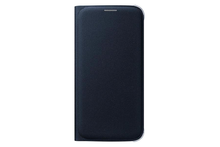 Samsung flipové pouzdro s kapsou EF-WG920B pro Samsung Galaxy S6 (SM-G920F), černá