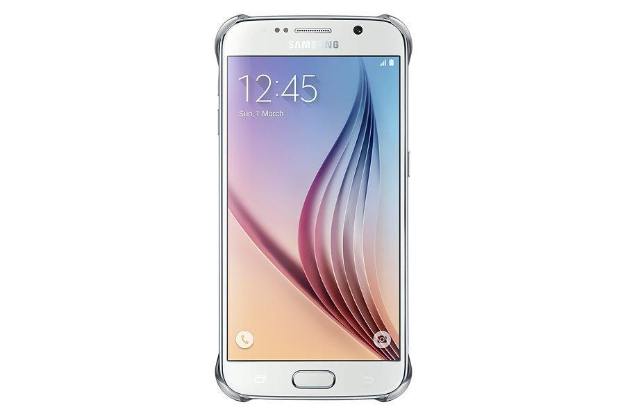 Samsung ochranný kryt EF-QG920B pro Samsung Galaxy S6 (SM-G920F), Stříbrná