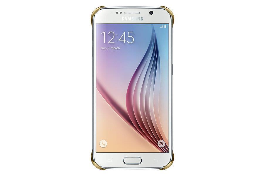 Samsung ochranný kryt EF-QG920B pro Samsung Galaxy S6 (SM-G920F), zlatá