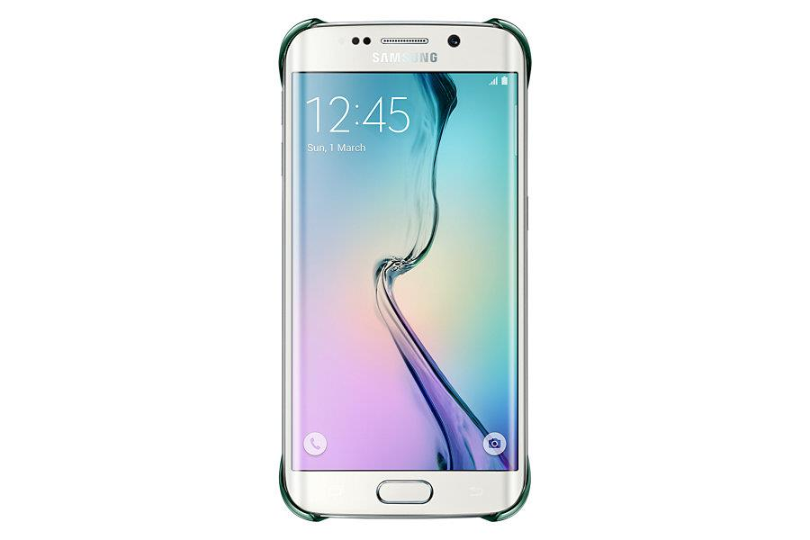 Samsung ochranný kryt EF-QG925B pro Samsung Galaxy S6 Edge (SM-G925F), zelená