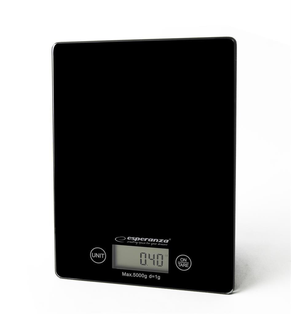 Esperanza EKS002K LEMON kuchyňská váha, černá