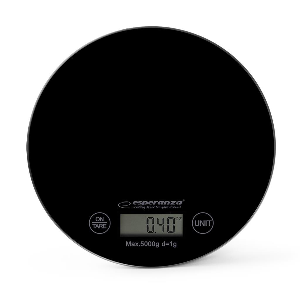 Esperanza EKS003K MANGO kuchyňská váha, černá