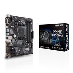 ASUS PRIME B450M-A soc.AM4 B450 DDR4 mATX M.2 D-Sub DVI HDMI