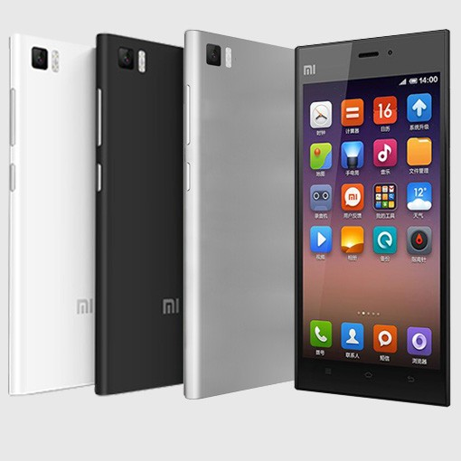 Xiaomi Mi3 Black/ 5´´ IPS GG3 1920x1080/2,3GHz QC/2GB/64GB/13MPx/3050mAh