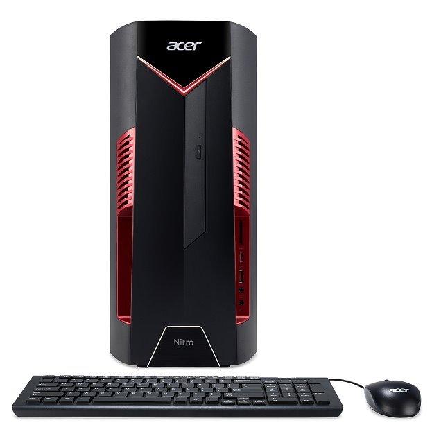 Acer Nitro N50-100 AMD R5 1400/8GB/128GB SSD+1TB/GTX 1050 Ti/DVDRW/W10 Home