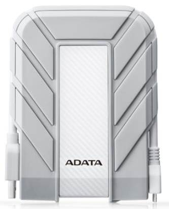 "ADATA Externí HDD 2TB 2,5"" USB 3.0 DashDrive™ Durable HD710, bílý (gumový, vodě/nárazu odolný), for MAC"
