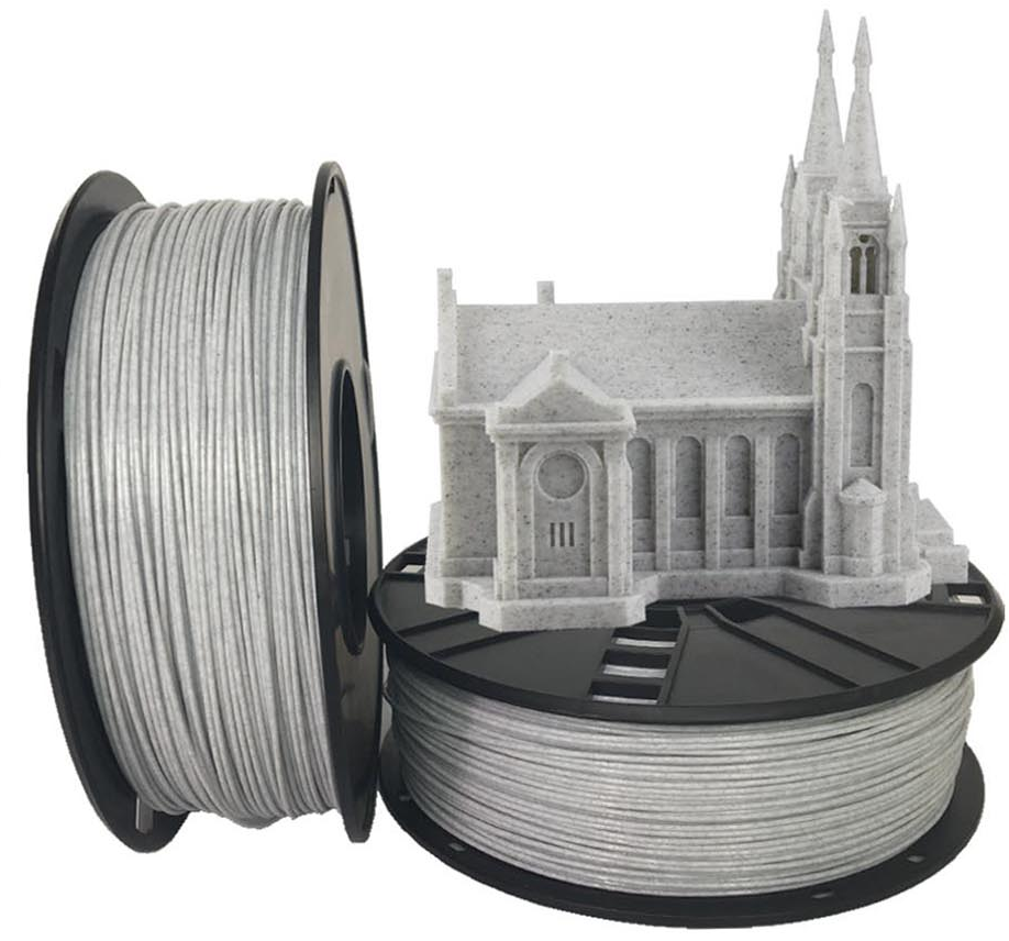 Filament Gembird PLA ''Marmur''| 1,75mm | 1kg