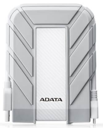 "ADATA Externí HDD 1TB 2,5"" USB 3.0 DashDrive™ Durable HD710, bílý(gumový, vodě/nárazu odolný), for MAC"
