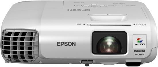 EPSON 3LCD/3chip projektor EB-955WH 1280x800 WXGA/3200 ANSI/10000:1/2xHDMI/LAN/16W Repro/optionWi-fi/(EB955WH)