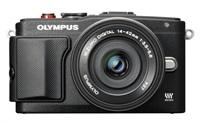 OLYMPUS E-PL6 fotoaparát 16.1MPix - Kit - černý/černý