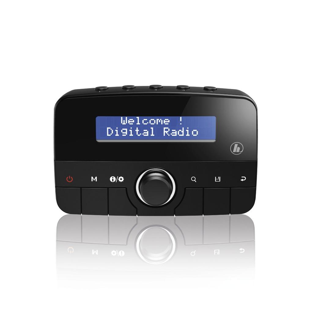 Hama DAB tuner do vozidla CDR70BT DAB/ DAB+/Bluetooth