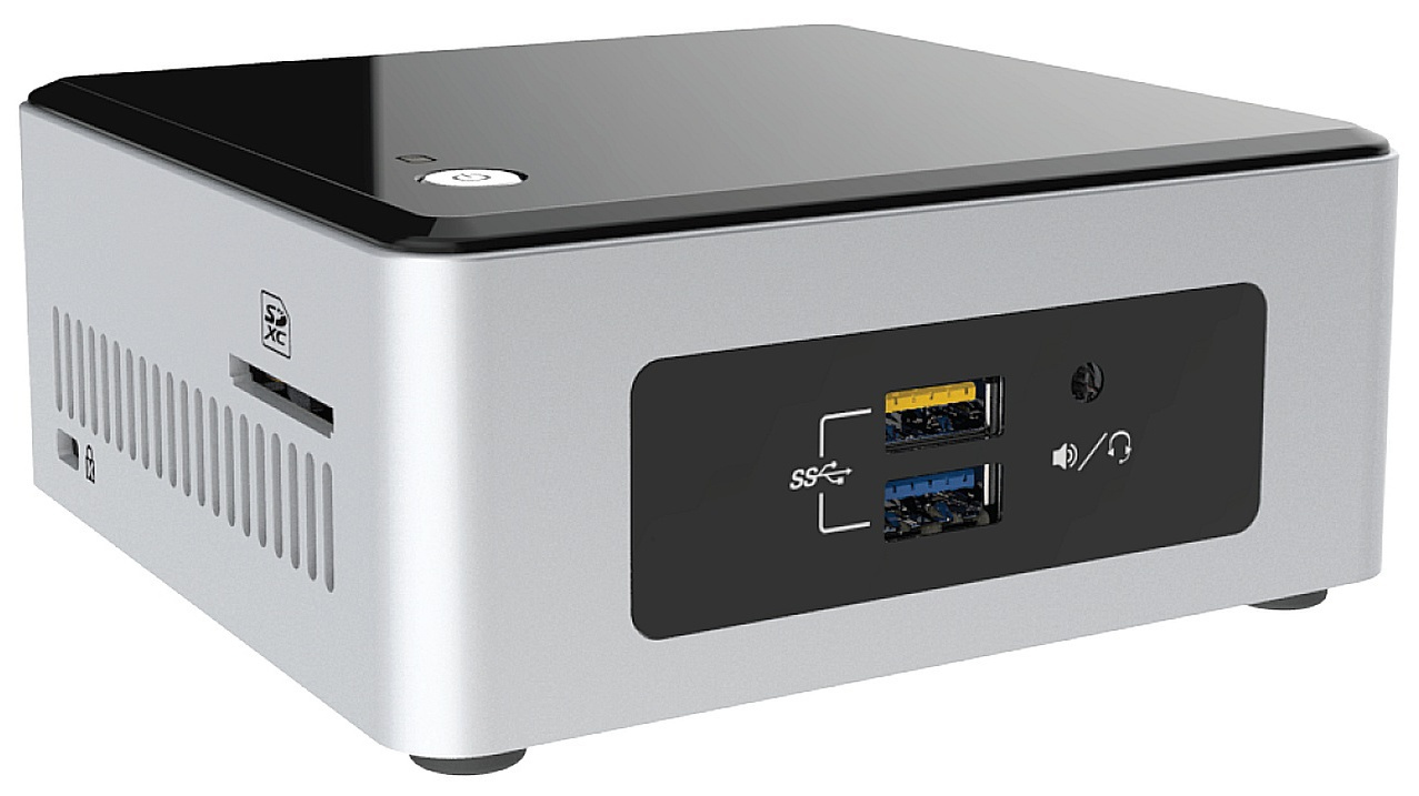 Intel NUC Kit 5CPYH Celeron/HD/4K/USB3/HDMI/2,5""