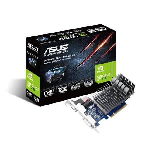 ASUS GeForce GT 710, 1GB GDDR3 (64 Bit), HDMI, DVI, D-Sub