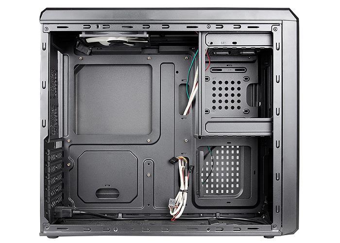 Chieftec PC skříň Uni series UK-02B-350GPB, PSU 350W