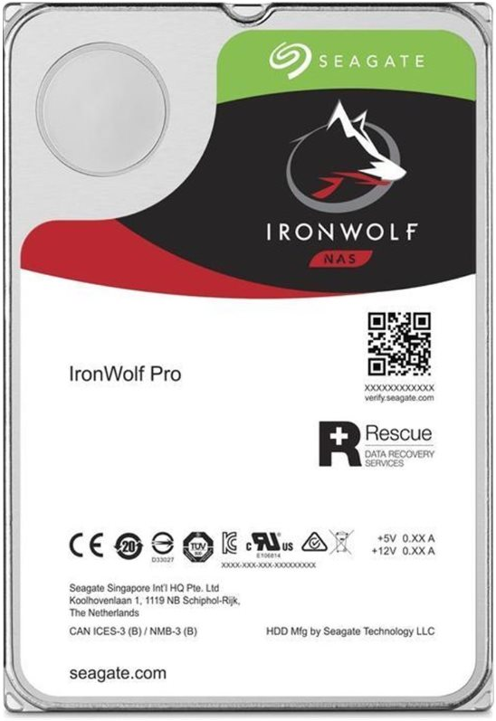 """Seagate IronWolf PRO, NAS HDD, 6TB, 3.5"""", SATAIII, 256MB cache, 7.200RPM"""