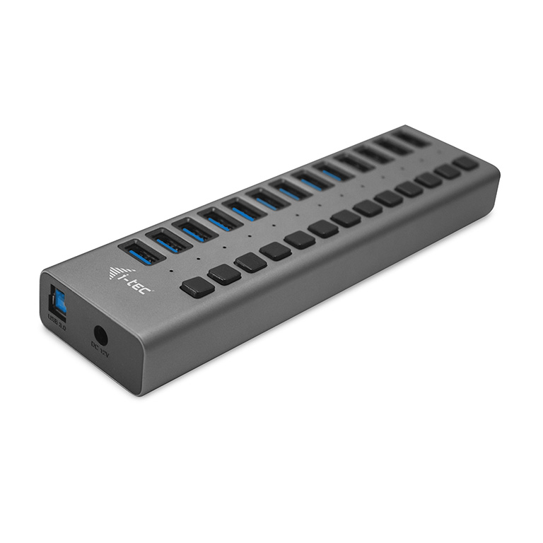 i-tec USB 3.0 Charging HUB 13 port + Power Adapter 60W