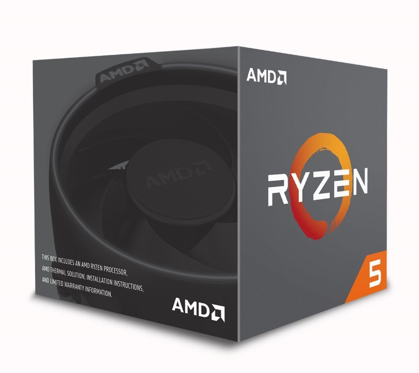 CPU AMD Ryzen 5 2600X 6core (3,6GHz) Wraith Spire