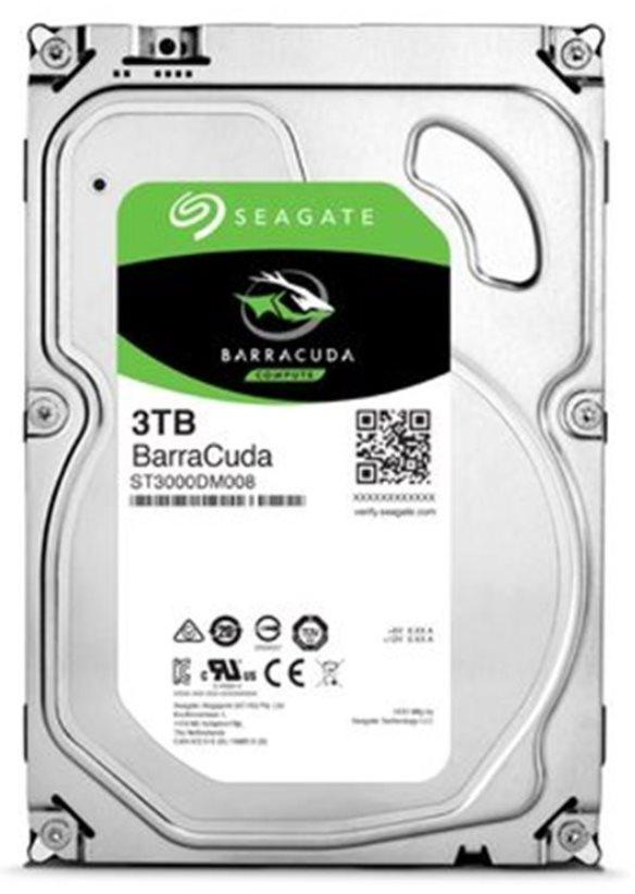 "Seagate BarraCuda 3.5"" HDD, 3TB, 3.5"", SATAIII, 64MB cache, 5.400RPM"