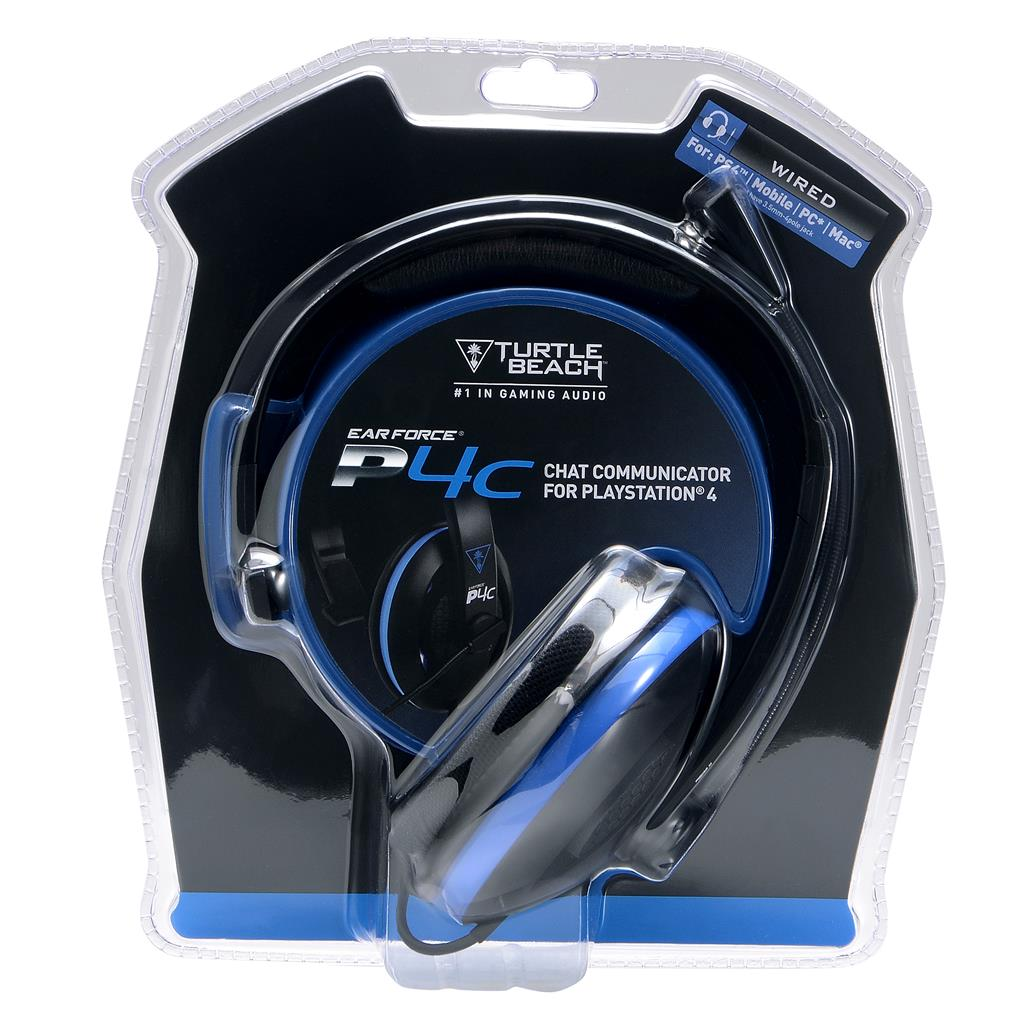 Turtle Beach EAR FORCE P4C sluchátka s mikrofonem