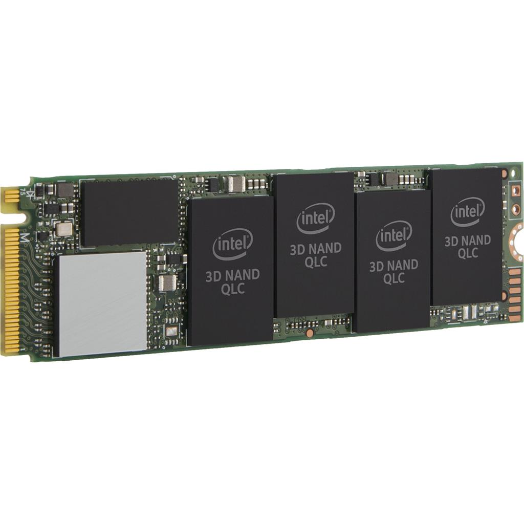 Intel SSD 660p Series 512GB, M.2 80mm PCIe 3.0 x4 NVMe, 1500/1000 MB/s, 3D2, QLC