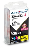 ARMOR sada cartridge pro HP Officejet 8000, 8500, CMYK, 940XL (C2N93AE)
