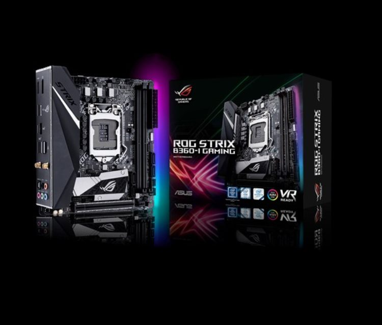 ASUS ROG STRIX B360-I GAMING Intel Socket 1151/B360/2xDDR4/1 x PCIe 3.0/2.0 x16/SATA 6Gb/Mini ITX