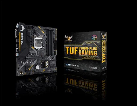 ASUS TUF B360M-PLUS GAMING Intel Socket 1151/B360/4xDDR4/1 x PCIe 3.0 x16 (x16 mode)/SATA 6Gb/M2/mATX