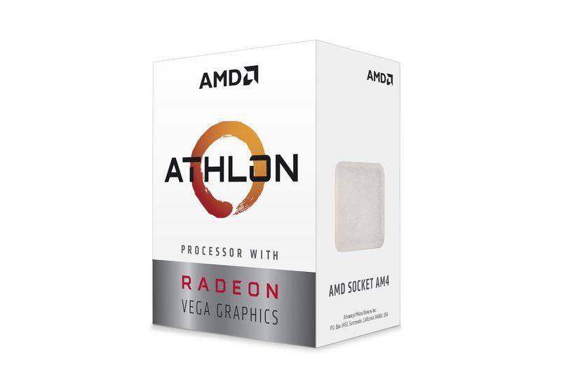 AMD Athlon 220GE, Radeon Vega Graphics, 3.4GHz, 5MB, 35W, AM4, box