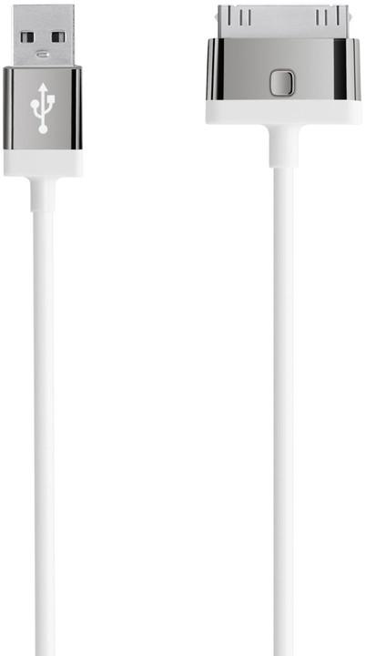 BELKIN MIXIT UP 30-Pin - USB kabel, bílý, 2m