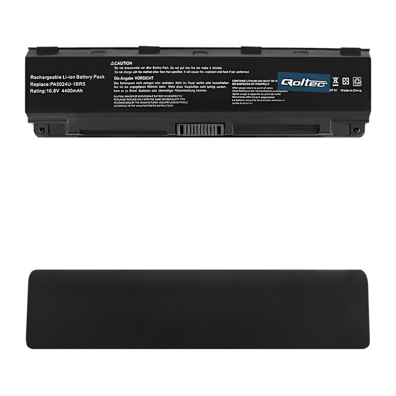 Qoltec Long Life Notebook Battery Toshiba C50D C55, 11.1 V | 4400 mAh