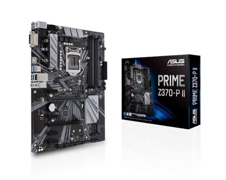 ASUS PRIME Z370-P II Intel Socket 1151/4xDDR4/1 x PCIe 3.0/2.0 x16 /SATA 6Gb/s*4/M.2/ATX