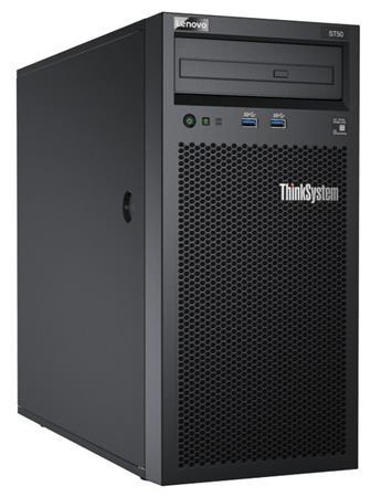 """Lenovo ST50 Xeon E-2124G 4+2C 71W 3.4GHz/1x8GB/2x2TB SATA NHS 3,5""""(4)/SW RAID/DVD-RW/AMT/250W fixed"""