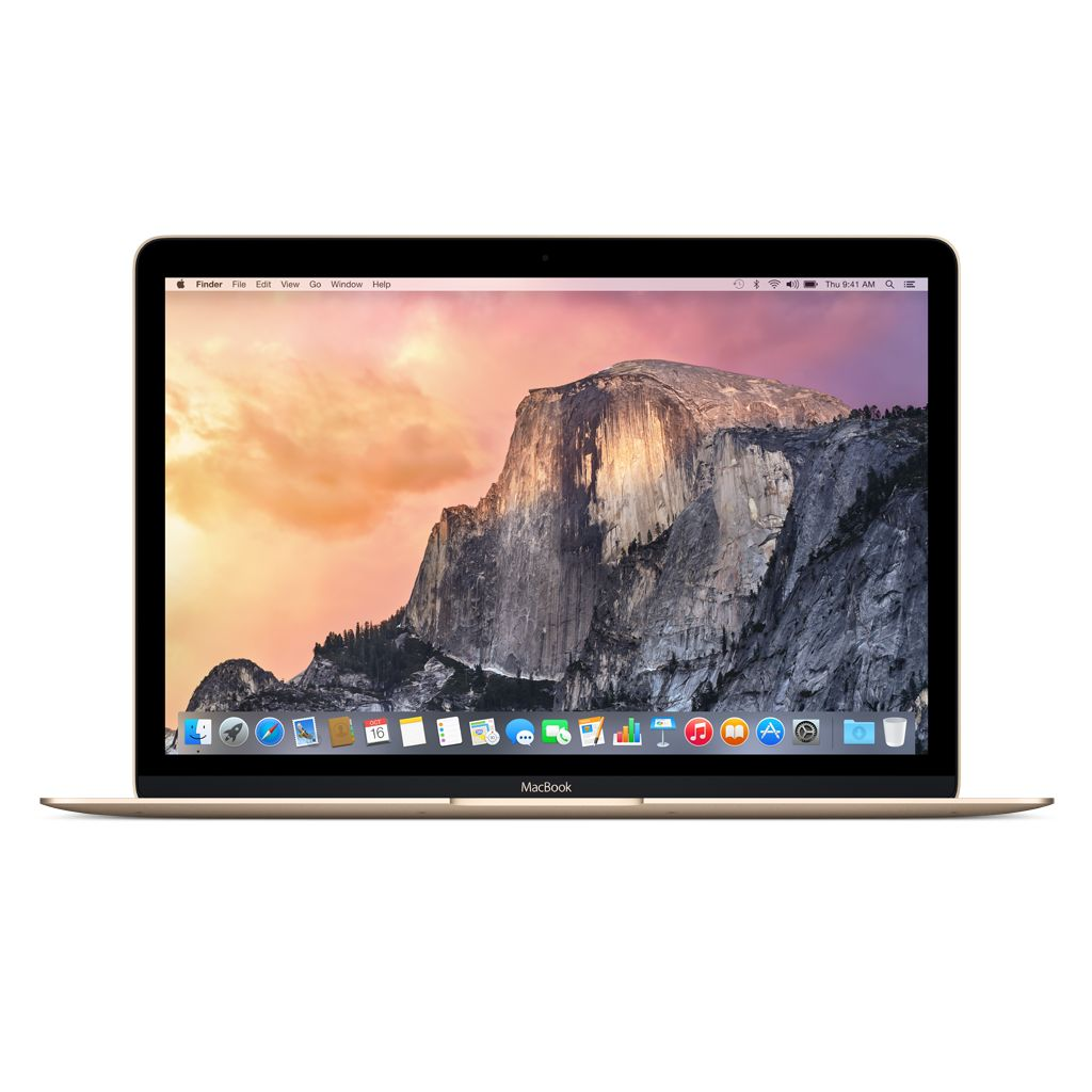 MacBook 12 -inch Retina Core M 1.2GHz/8GB/512GB/Intel HD 5300/Gold