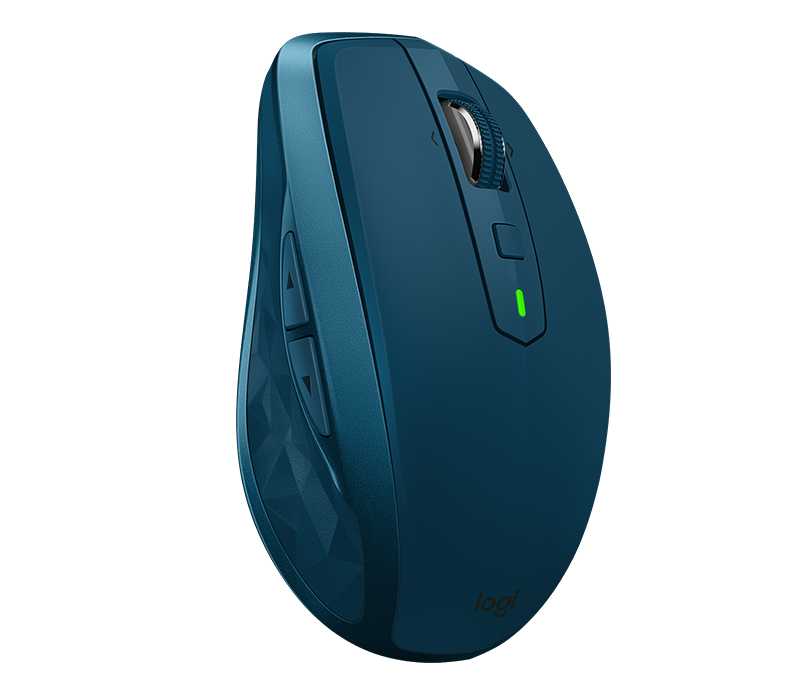 Logitech® Wireless Mouse MX Anywhere 2S - Midnight Teal - EMEA