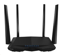 Tenda AC6 Wireless AC1200 Dual Band Router, 3x 10/100 RJ45, 4x anténa 5 dBi