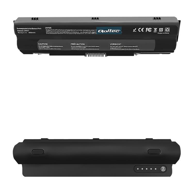 Qoltec Long Life Notebook Battery Dell XPS 14 15 17 L501x | 11.1 V | 6600mAh