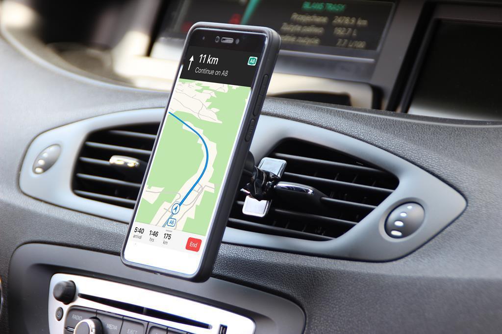 Media-Tech univerzální držák do auta pro mobilní telefony, magnetický