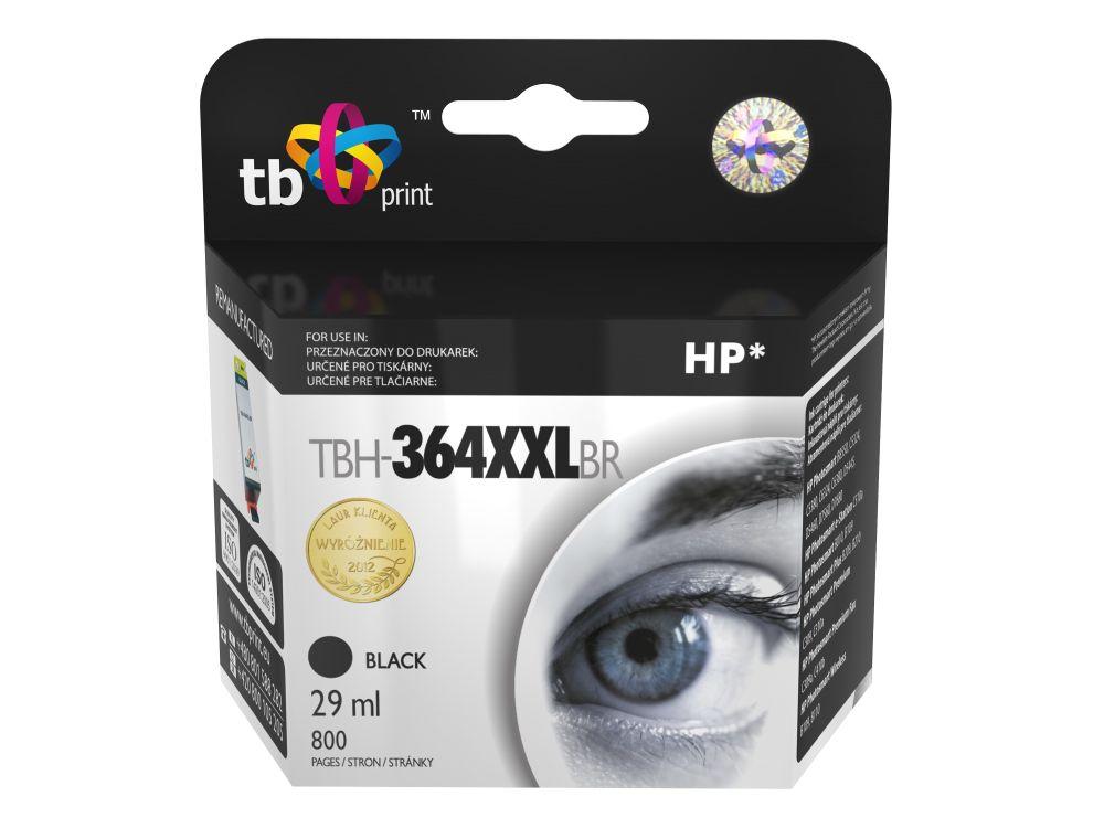 Ink. kazeta TB kompat. s HP CB321EE, XXL, TBH-364XXLBR, Black