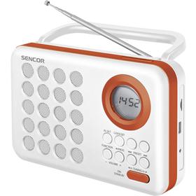 SRD 220 WOR RÁDIO S USB/MP3 SENCOR