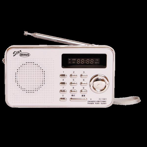 Rádio Bravo B-6018 bílé