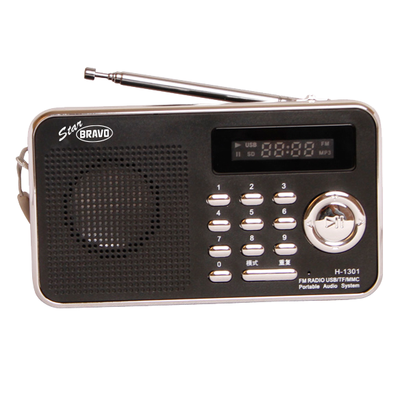 Rádio Bravo B-6018 černé