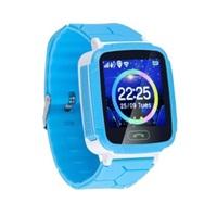 GOCLEVER chytré hodinky Kiddy GPS WATCH, modrá
